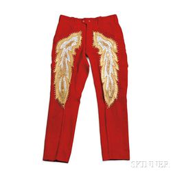 Little Jimmy Dickens     One Pair of Red Nudie Pants