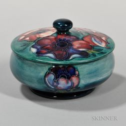 Moorcroft Anemone Box and Cover