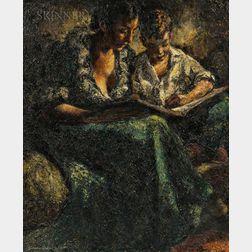 Lawrence Nelson Wilbur (American, 1897-1988)      Homework