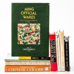 Nine Reference Books on Chinese Ceramics