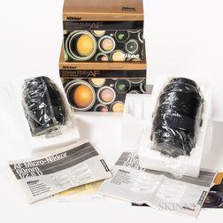 Two New-in-box Nikon 2.8D Lenses