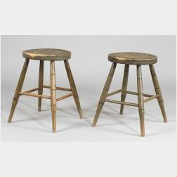 Pair of Windsor Stools