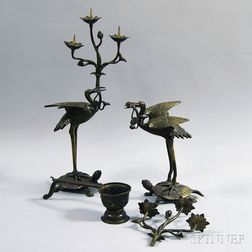 Three Bronze Items