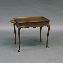 Queen Anne-style Walnut Tea Table