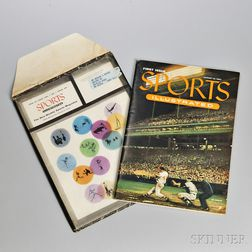 Sports Illustrated, First Issue, August 16, 1954, in the Original Mailing Envelope. Volume one, number one, housed in its original full