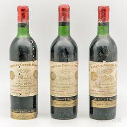 Chateau Cheval Blanc 1967, 3 bottles