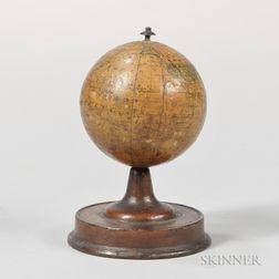 Joseph Schedler's 3-inch Terrestrial Globe