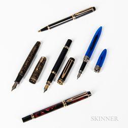 Five Miscellaneous Pens