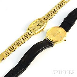 Two 14kt Gold Watches