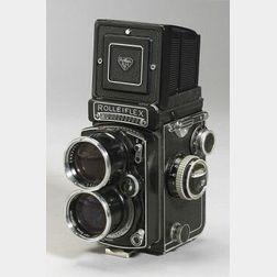 Tele Rolleiflex Twin Lens Reflex Camera