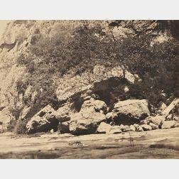 John Beasley Greene (American, 1832-1856)      River Bank, Algeria