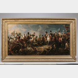 After Francois Gerard (French, 1770-1837)      Napoleon at the Battle of Austerlitz