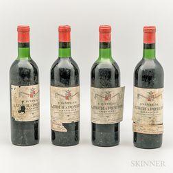 Chateau Latour a Pomerol 1967, 4 bottles