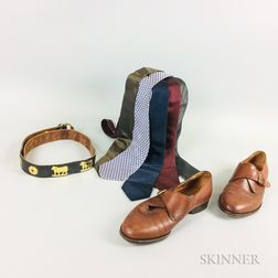 Group of Gentleman's Designer Accessories