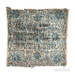 Chinese Silk Rug Fragment