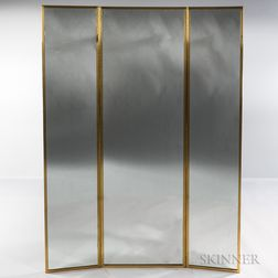 Paul McCobb Three-part Wall-mounted Mirror