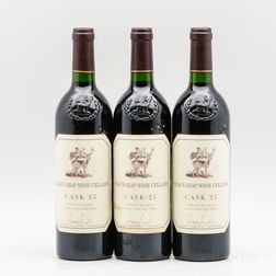 Stags Leap Wine Cellars Cabernet Sauvignon Cask 23 2000, 3 bottles