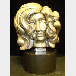 Miguel Berrocal Compound Sculpture Portrait de Michelle