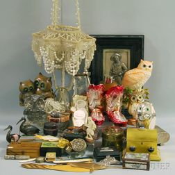 Approximately Sixty-five Assorted Decorative Items