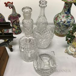 Six Glass Items