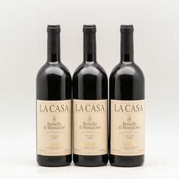 Tenuta Caparzo Brunello di Montalcino Vigna La Casa 1999, 3 bottles