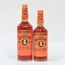 Old Grand Dad, 1 liter bottle 1 750ml bottle Spirits cannot be shipped. Please see http://bit.ly/sk-spirits for more info.