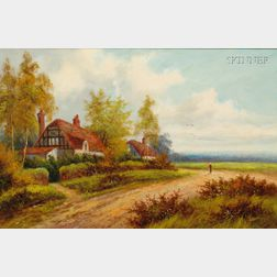 British School, 19th/20th Century      Cottages