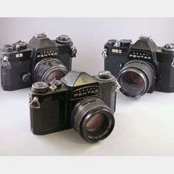 Three Pentax Cameras