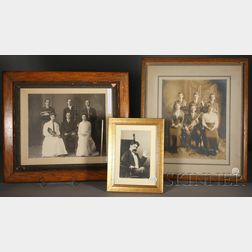 Three Framed Pictures, c. 1890-1915
