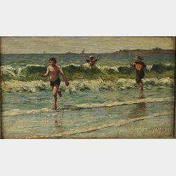 George Arthur Hays (American, 1854-1945)      Beach at Lynn
