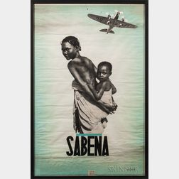 Sabina Airlines Poster