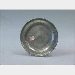 Richard Austin Pewter Plate.