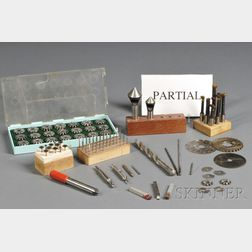 Collection of Metal Working Cutters and Bits