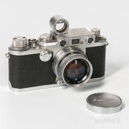Leica IIIF and Lens