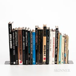 Collection of Books and Auction Catalogs Related to African Art