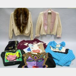 Lot of Vintage and Designer Sweaters and Pullovers