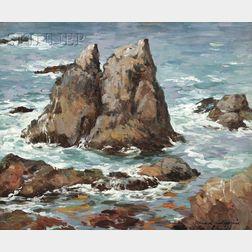 Lillian Mathilde Genth (American, 1876-1953)      Carmel, California