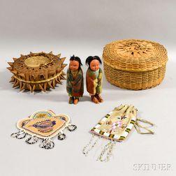 Six Native American Items