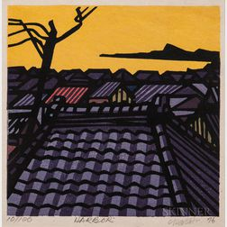 Clifton Karhu (1927-2007), Three Woodblock Prints