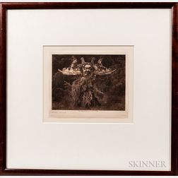 Edward Curtis Photogravure Print