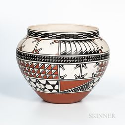 Contemporary Southwest Pottery Jar
