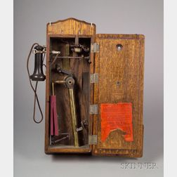 De Moulin Bros. & Co. Wireless Trick Telephone