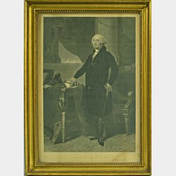 Framed John Taylor Print of George Washington
