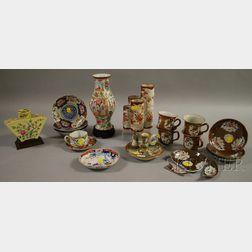 Sixteen Assorted Asian Porcelain Items