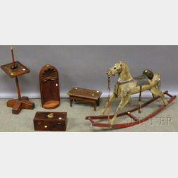 Five Assorted Decorative Americana Items