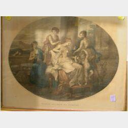 After Angelica Kauffman (Swiss, 1740-1807) Francesco Bartolozzi, R. A., engraver (Italian, 1727-1815)