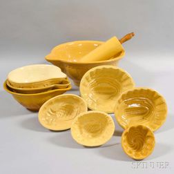 Group of Yellowware