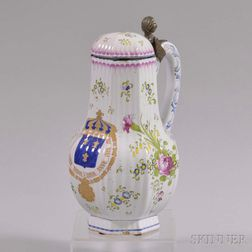 Large Faience Tankard