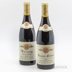 Michel Lafarge, 2 bottles
