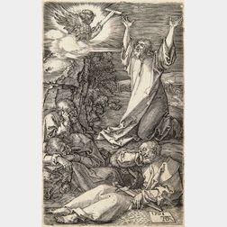 Albrecht Dürer (German, 1471-1528)      Christ on the Mount of Olives